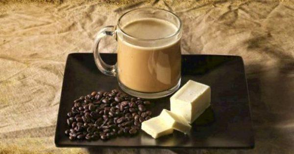 Как сделать жирный кофе?
